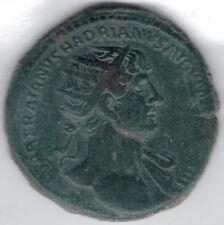 TMM* Roman Imperial Dupondius Hadrian 117-38AD gVF 27MM bronze/nice detail