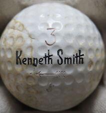 (1) KENNETH SMITH SIGNATURE LOGO GOLF BALL ( 1.62 CIR 1964) #3