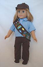 "Doll Clothes -Brownie Pants Uniform - 18"" Doll"