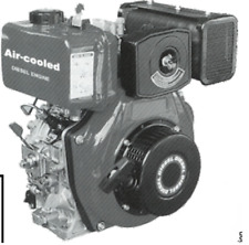 10HP DIESEL ENGINE PART NO = QDE10ES