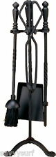 Cast Iron Fireplace Companion Set Fire Side Tools Poker Fire Place Accessories