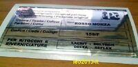 Lancia delta hf integrale 16 valvole evo 1-2 adesivo colore ppg rosso monza 159f