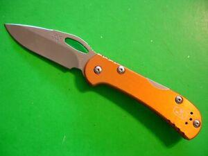"NTSA BUCK USA 3 5/8"" CLOSED ""MINI SPITFIRE"" LOCKBACK POCKET KNIFE #726 2014"
