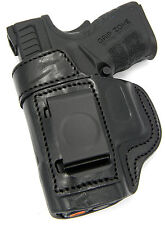 TAGUA BLACK LEATHER LH IWB CONCEALMENT HOLSTER - SPRINGFIELD XD SUBCOMPACT