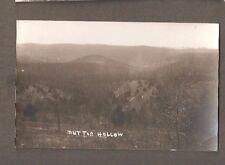 Vtg Postcard Mutton Hollow RPPC MO Missouri Early AZO west of Branson