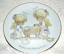 "Precious Moments ""Bringing God's Blessing to You"" plate"