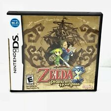 The Legend Zelda Phantom Hourglass Nintendo DS Wi-Fi Video Game Complete B19-23