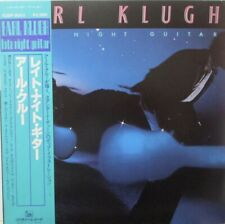 EARL KLUGH - Late Night Guitar ~ VINYL LP JAPANESE PRESS + OBI