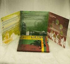 Lituanie EURO KMS Série de monnaie légale pièces 2015 Tourist BU PC