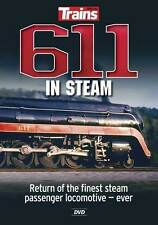 611 in Steam DVD NEW Trains Magazine Kalmbach Norfolk & Western N&W Steam loco