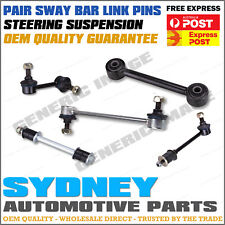 2 x Front Sway Bar Link Pins Toyota Camry ACV40 AHV40 07 / 2006 - 02 / 2012