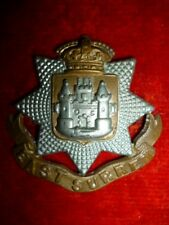 The East Surrey Regiment Victorian Bi-metal Cap Badge, KK 639