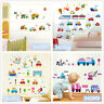 Car train vehicle Home Room Decor Removable Wall Stickers Decal Decoration