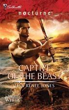 Captive of the Beast Bk4 Lisa Renee Jones 2009 Paperback Silhouette Nocturne #63