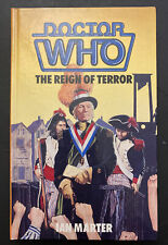 """More details for doctor who - """"the reign of terror"""" hardback book by ian marter (mint condition)"""