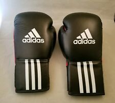 Adidas Performance Response Boxing Gloves Clima Cool Red and Black 12oz.
