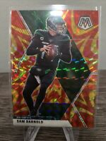 2020 panini Mosaic Sam Darnold reactive gold prizm New York Jets