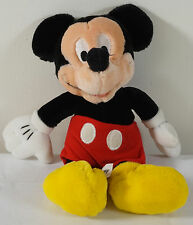 *Vintage  Mickey Mouse Plush Disneyland Walt Disney World (H)
