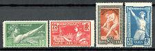 Francia 1924 los Juegos Olímpicos de París Yvert 183-186 post frescos mnh