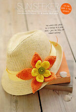 KNITTING PATTERN LADY CHILD FLOWER DECORATION CORSAGE SKM A1A SPECIAL OFFER