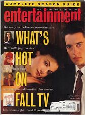 ENTERTAINMENT WEEKLY- SEPTEMBER 14, 1990-COMPLETE SEASON GUIDE!