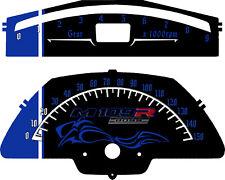 Suzuki M109R Custom Speedo & Tach  2012-2018  (MP/H or KM/H)  Boss Blue