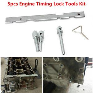 5Pcs Timing Lock Tools Kit Camshaft Cam for Ford Mazda Fiesta Focus Engine