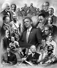 "African American Art ""Great African Americans: Men"" by Wishum Gregory"