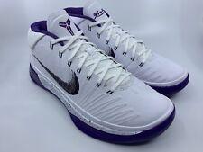 "Men's Nike Kobe AD - ""Baseline"" White/Court Purple (922482 100) Size 11"