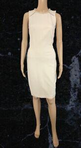 BNWT Myleene Klass Cream Shift Dress With Beaded Neck Size 10