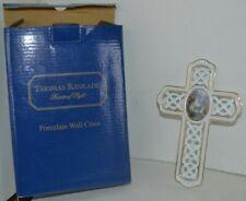 Thomas Kinkade Porcelain Wall Cross In Box