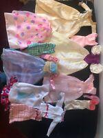 Disney Princess Barbie Doll Clothes Gowns Dresses Crown Lot