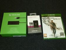 Microsoft Xbox One Lot Quantum Break Play Charge Pack Offizielle Digital TV Tuner