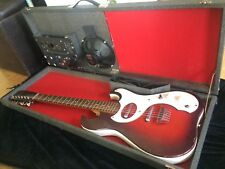 1965 Silvertone 1457 amp-in case w/Tremolo + guitar with 2 Pickups!
