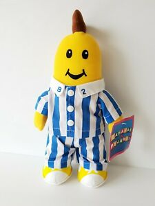 Vintage ABC Bananas In Pyjamas B2 Plush 2001 Brand NEW With tags 31cm