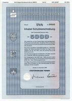 Stadtsparkasse Viersen 1989 Bank DM IHS Mönchengladbach Sparkasse Wertpapier NRW