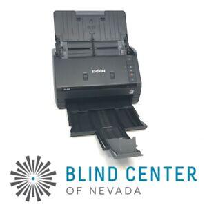 Epson WorkForce ES-400 Duplex Document / Receipt Scanner Clean TESTED No Adapter