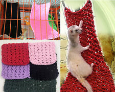 Ferret Mice Hamster Mouse Pirate Net Hammock Hanging Climbing Bed Fun Toy