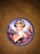 Franklin Mint Princess Diana Music Box