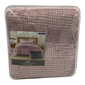 "Koolaburra by Ugg Twin/TwinXL Comforter Lilac ""Molly"""
