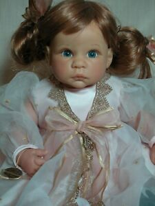 Lee Middleton Reva Schick Vinyl  doll with Wrist tag 22' Tall Great Condition