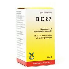 DR. RECKEWEG BIO 87 (R87) Anti Bacterial Drops Homeopathic Remedy