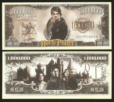 Lot of One New Note Set Harry Potter Novelty Note Million Gryffindor Banknote