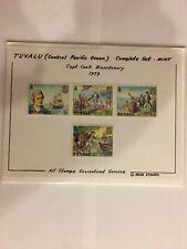 TUVALU: 1979 SC#114-17 MNH Bicentenary of death of Capt. James Cook