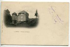 CARTE POSTALE TENCE CHATEAU DU BESSET 1902