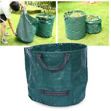 60L Garden Leaf Bag Reusable Yard Garden Waste Storage Holder Bag with Handles