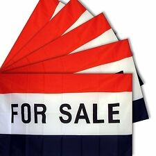 3x5 3'x5' Wholesale Set 5 Pack of Advertising For Sale Business 5 Flags Flag