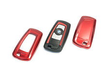 BMW Remote Flip Key Cover Case Skin Shell Cap Fob Protection Hull M Tech Red