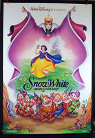 Snow White and the Seven Dwarfs 1994 Original Movie Poster 27x40 Folded, DS (RE)