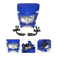 Headlights Headlamp for YAMAHA WR250F WR250X WR426F WR250F WR450F Endure Blue